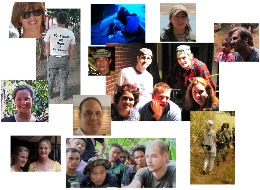 Collage of Volunteers